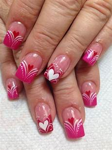 pretty valentines day nails art for your inspiration 19