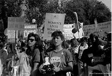 white abortion activists scream at black pro student s rights demonstration 13 november 1989 photo