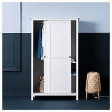 Hemnes Wardrobe With 2 Sliding Doors White Stain Ikea