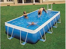 above ground swimming pools rectangle
