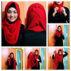 Cara Memakai Jilbab Pashmina Untuk Ke Pesta Model Jilbab