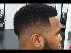 low fade haircut for black men low fade afro haircut black men youtube