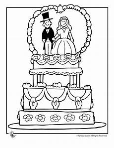 Malvorlagen Wedding Wedding Coloring Pages Wedding Cake Coloring Page