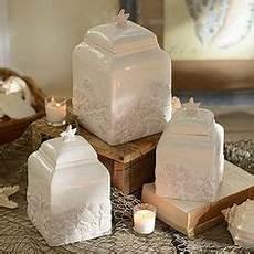 amazon com mud pie starfish canister set kitchen dining decorating beach house decor