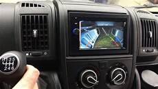 removal radio fiat ducato 2017 android winca