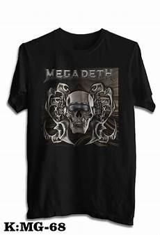 jual kaos band megadeth tshirt musik rock megadeth code mg 68 di lapak indonesia kaos nuansakaos