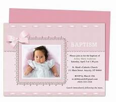 invitation card christening layout printable diy baby baptism invitation templates
