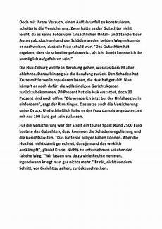 Kleiner Unfall Seite 3 Warnung Vor Huk Coburg Kfz