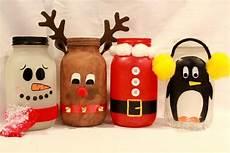 weihnachtsgeschenk selber machen items similar to jars painted santa