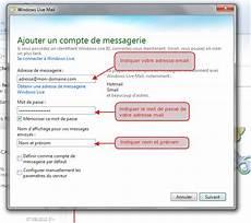 comment trouver une adresse mail comment installer mon adresse mail sur windows live mail