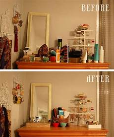 Apartment Organizing Ideas by A Simple Declutter Idea For Your Dresser Bedroom