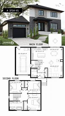 modern two story floor plans modern house modern house