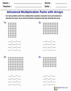 multiplication worksheets with arrays 4662 multiplication worksheets dynamically created multiplication worksheets