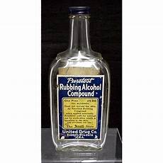 united co rexall glass bottle from drury on ruby