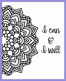 mandala coloring pages with quotes 17979 motivational mandala free coloring pages quote coloring pages coloring pages inspirational