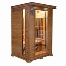 cabine de sauna cabine sauna infrarouge luxe sauna 2 places