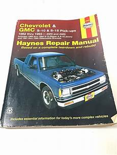 car repair manuals online pdf 1993 chevrolet s10 navigation system haynes chevrolet s10 pick up gmc s15 truck 1982 1993 repair manual 4wd 2wd ebay with images