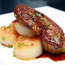 noix de jacques gratin 233 es au foie gras frais