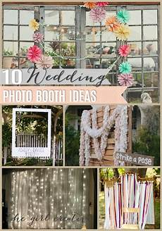 17 Wedding Photo Booth Ideas