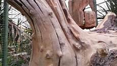 arbre en bois faux bois arbre en beton sculpte