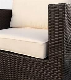 cuscini per divani esterni set arredo per esterni divano e poltrone per giardino