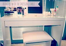 My Makeup Storage Ikea Malm Dressing Table Couture