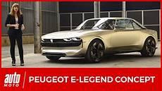 peugeot e legend peugeot e legend concept 2018 la 504 du futur