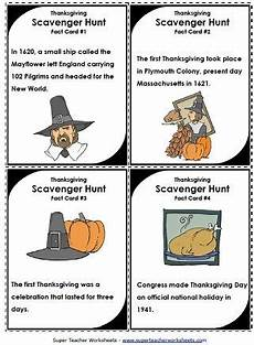 thanksgiving classroom scavenger hunt activity super teacher worksheets classroom