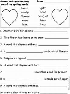 soon card templates questions valentines day spelling word questions enchantedlearning