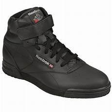 reebok exofit hi clean logo sneakers reebok all black