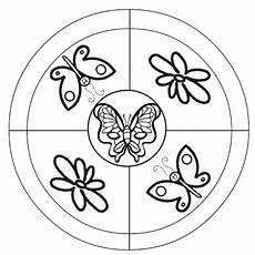 Malvorlage Schmetterling Mandala Ausmalbilder Mandala Schmetterling 07 Rovarok