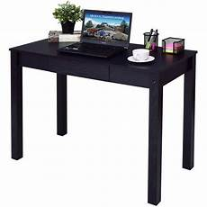 Simple Work Desk by Goplus Black Computer Desk Work Station Writing Table Home