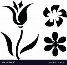 roses black outline drawing white background vector by essl image 1752408 vectorstock