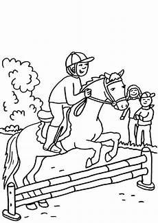 Ausmalbilder Pferde Hindernis Wellcome To Image Archive Ausmalbilder Pferde Springreiten