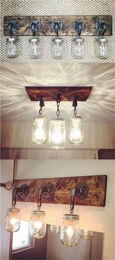 25 amazing diy rustic home decor ideas and designs wood projects diy mason jar lights mason