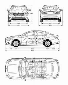 dimension classe c mercedes class c carros carro de papel 227 o e desenhos