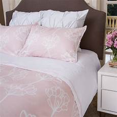 Pink And White Duvet Covers by Floral Print Duvet Cover The Mariposa Pink Modern