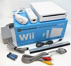 buy wii console nintendo wii white console system bundle