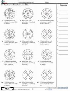 worksheets on probability for grade 3 5868 probability worksheets math worksheets and math