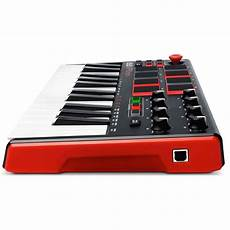 mpk mini 2 akai mpk mini mk 2 laptop production keyboard box opened at gear4music