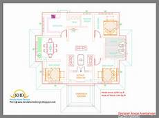 one floor house plans in kerala single floor house plan and elevation 1290 sq ft kerala