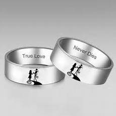 his and hers rings jack and sally and the nightmare