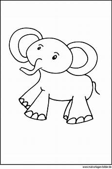 malvorlagen f 252 r 3 j 228 hrige der elefant