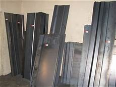quantity of assorted pre fabricated sheet metal folded trailer side panels auction 0035 5001429