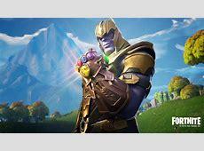 Thanos In Fortnite Battle Royale, HD 4K Wallpaper