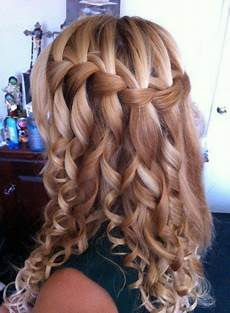 Waterfall Curls Hairstyles