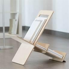 zeitungsständer selber bauen revistero moderno de madera de dise 241 o minimalista fieito