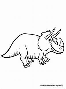 malvorlagen dinosaurier triceratops kostenlos zum ausdrucken