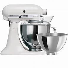 kitchenaid artisan mixer ksm160 stand mixer white