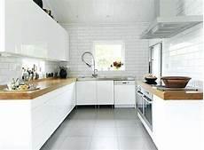 déco cuisine blanche carrelage gris et cuisine blanche atwebster fr maison